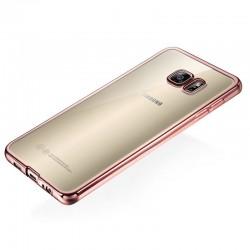 Silikonový kryt pro Samsung Galaxy S6 Edge - růžový