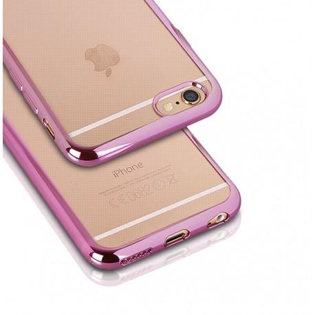 Silikonový kryt pro Samsung Galaxy S6 - růžový