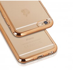 Silikonový kryt pro Samsung Galaxy S6 - zlatý