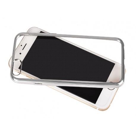 Silikonový kryt pro Samsung Galaxy A5 (2017) - stříbrný