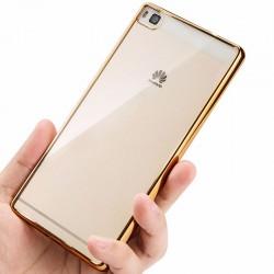 Silikonový kryt pro Huawei P9 lite - zlatý