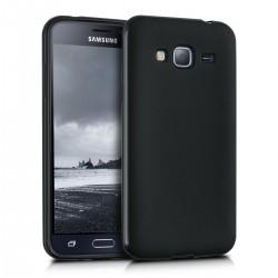 Silikonový kryt pro Samsung Galaxy J3 (2016) - černý