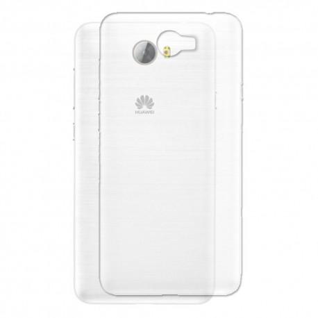 Silikonový kryt pro Huawei Y5 - průhledný