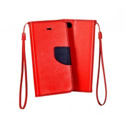 Fancy pouzdro pro Samsung Galaxy S6 - červené