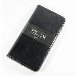Kožený kryt pro Apple iPhone 6/6S - černý