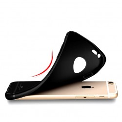 Silikonový kryt pro Apple iPhone 5/5S - černý
