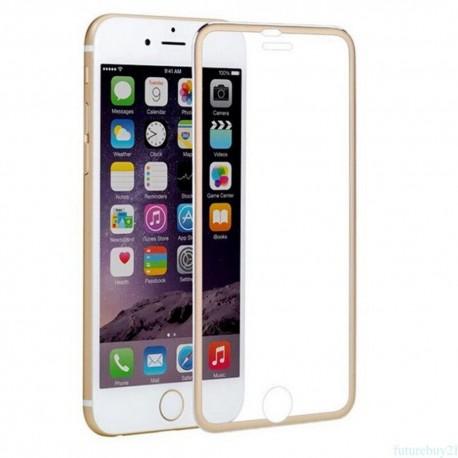 3D Tvrzené sklo pro Apple iPhone 6/6s Plus - zlaté