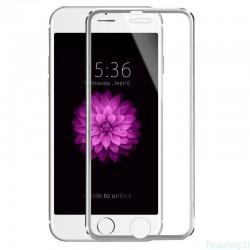 3D Tvrzené sklo pro Apple iPhone 6/6s Plus - stříbrné