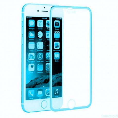 3D Tvrzené sklo pro Apple iPhone 6/6s Plus - modré