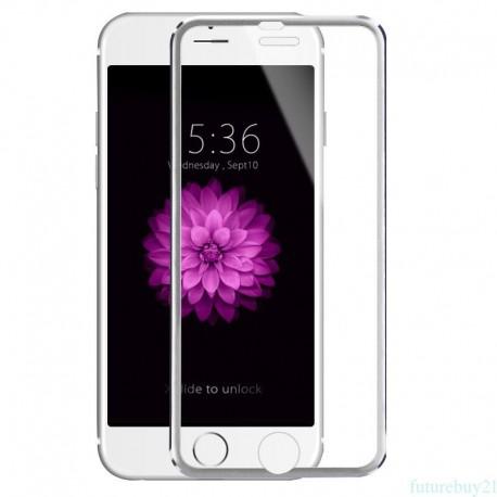 3D Tvrzené sklo pro Apple iPhone 7/8 - stříbrné