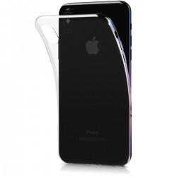 Silikonový kryt pro Apple iPhone X  - průhledný