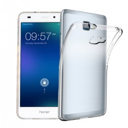 Silikonový kryt pro Huawei Honor 7 Lite - průhledný