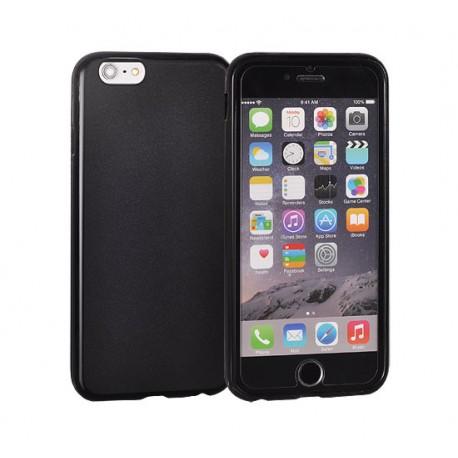 Silikonový kryt pro Apple iPhone 5/5S/SE - černý