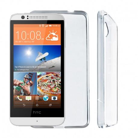 Silikonový kryt pro HTC Desire 510 - průhledný