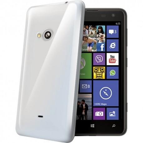 Silikonový kryt pro Microsoft Lumia 430 - průhledný