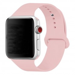 Silikonový pásek na hodinky Apple Watch 42mm - růžový
