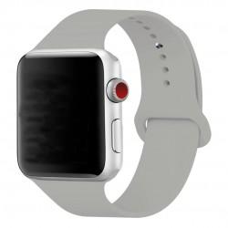 Silikonový pásek na hodinky Apple Watch 42mm - bílý