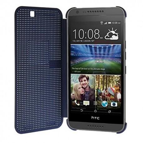 Pouzdro DOT VIEW HTC Desire 728 modré