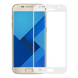 3D Tvrzené sklo pro Samsung Galaxy S7 - bílé