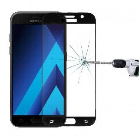 3D Tvrzené sklo pro Samsung Galaxy A3 (2017) - černé