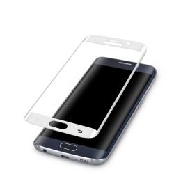 3D Tvrzené sklo pro Samsung Galaxy S6 Edge - bílé