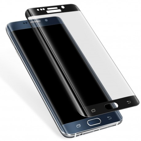 3D Tvrzené sklo pro Samsung Galaxy S6 Edge - černé